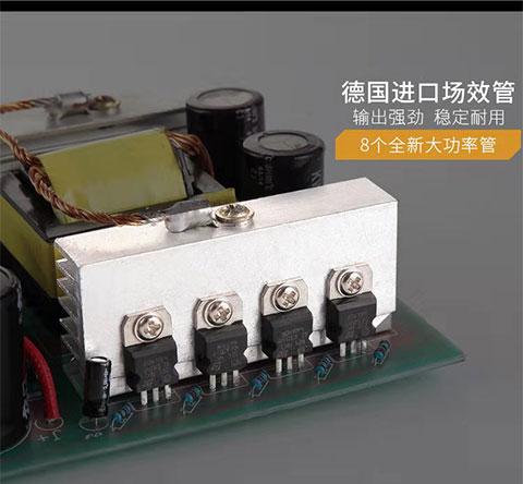 皇冠2号电鱼机12v背式电鱼机150元左右大功率深水电鱼机